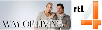Way of Living plus RTL logo
